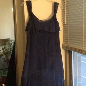 Midnight blue dress size 4 Banana Republic